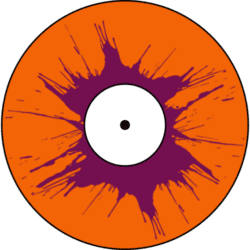 Orange and Purple Vinyl