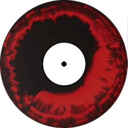 Black and Red Vinyl