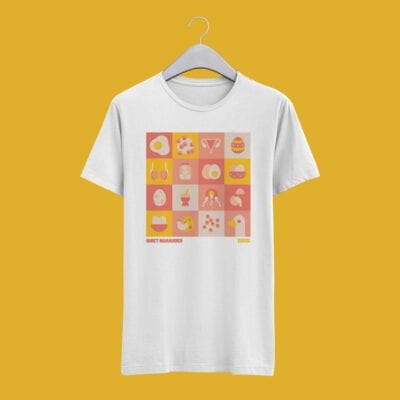 Quiet Marauder - Eggs! - T-Shirt