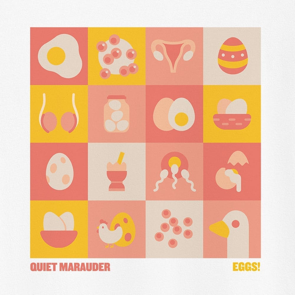 Quiet Marauder – Eggs! – T-Shirt