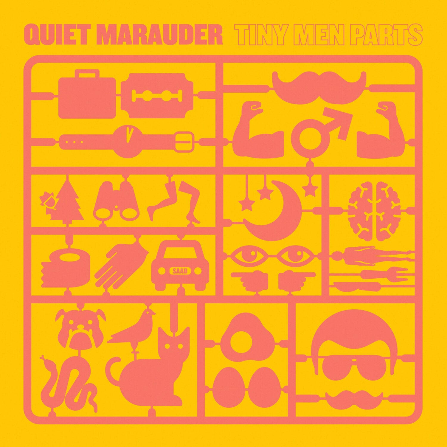 Quiet Marauder – Tiny Men Parts