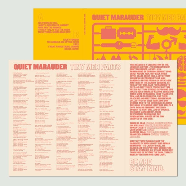 Quiet Marauder - Tiny Men Parts