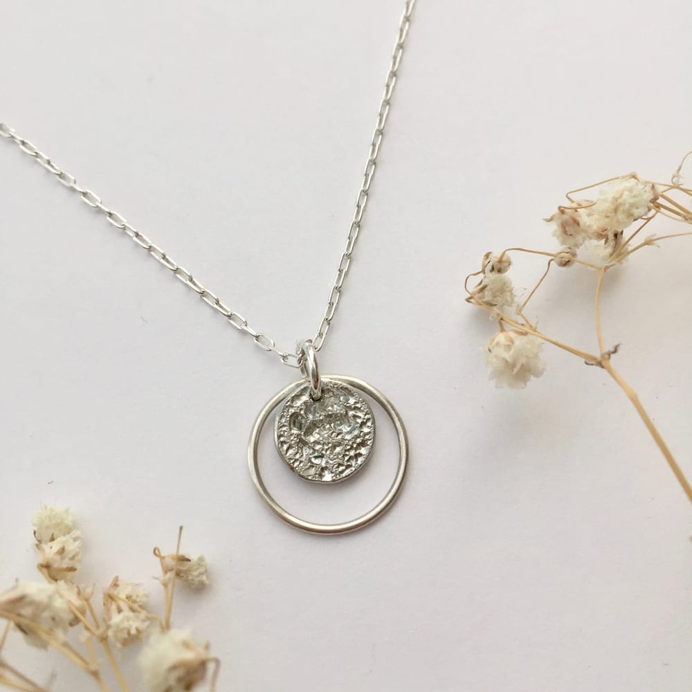 Tinymoon-silver-ring-pendent-