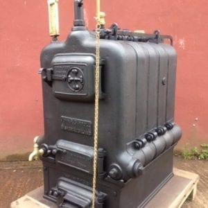 Robin Hood 5 Completed boiler prior to delivery