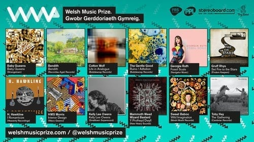 Ruins/Adfeilion up for the Welsh Music Prize 2017!